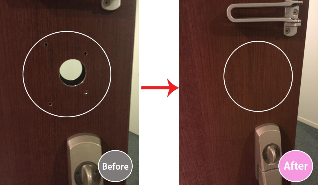 玄関ドア修繕-2