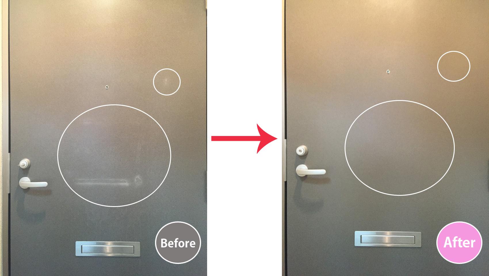 玄関ドア修繕-1