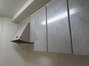 施工前 キッチン戸棚