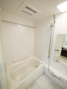 ナチュラルシック×収納力 バスルーム