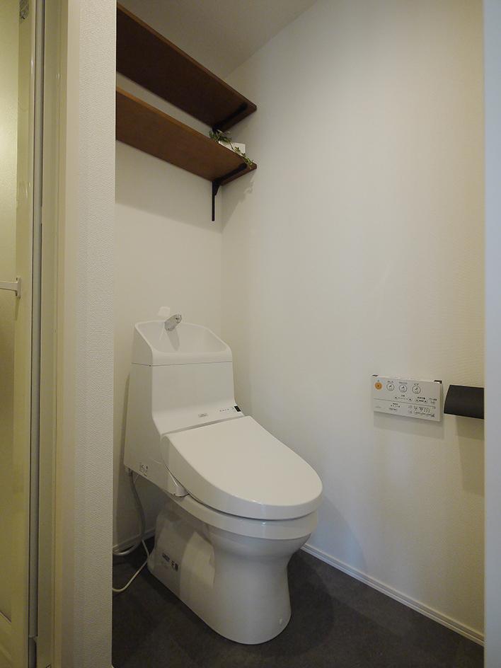 アート感溢れるブルックリン風 トイレ
