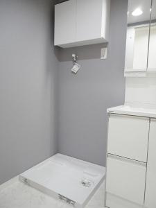 ぬくもり漂うナチュラル空間-洗濯機置き場