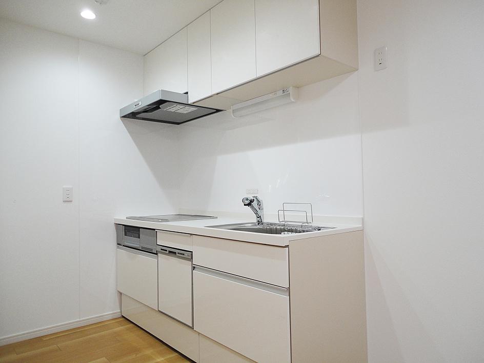 ぬくもり漂うナチュラル空間-キッチン全体