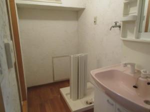 200施工前-洗面室