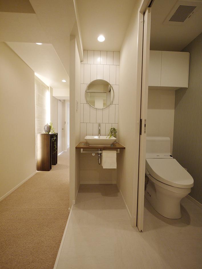 207-廊下とトイレ