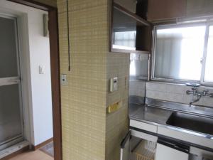 218-施工前キッチン入口