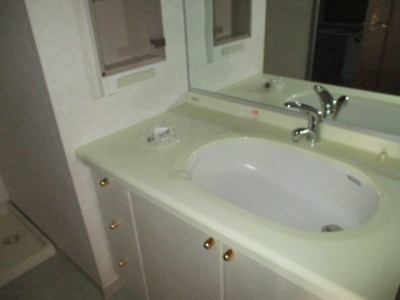 239-施工前洗面台