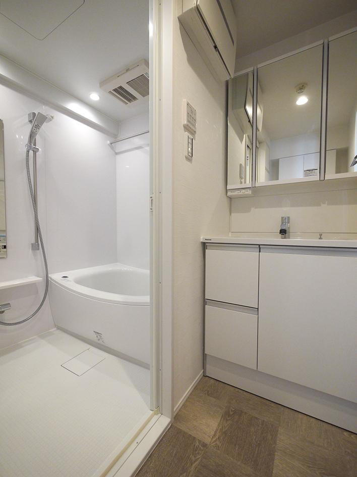 243-洗面台と浴室