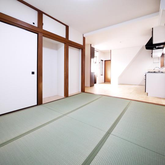 戸建の和室をオープンな居間に
